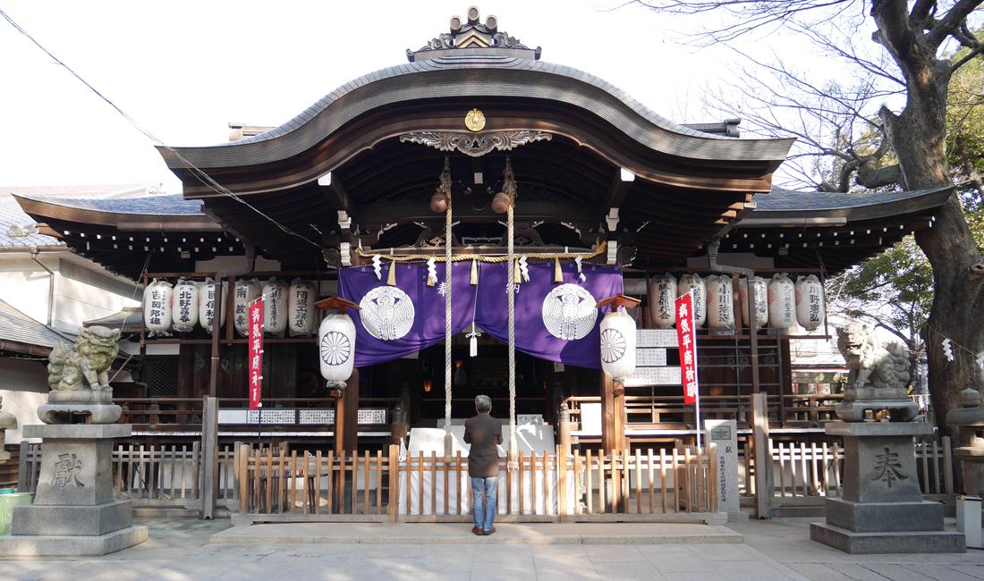 Miyuki Moriten Jingu Shrine